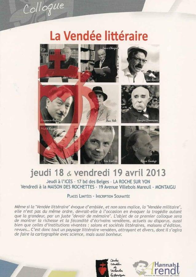 5Lire en Vendée - avril 2013 - décembre 2013