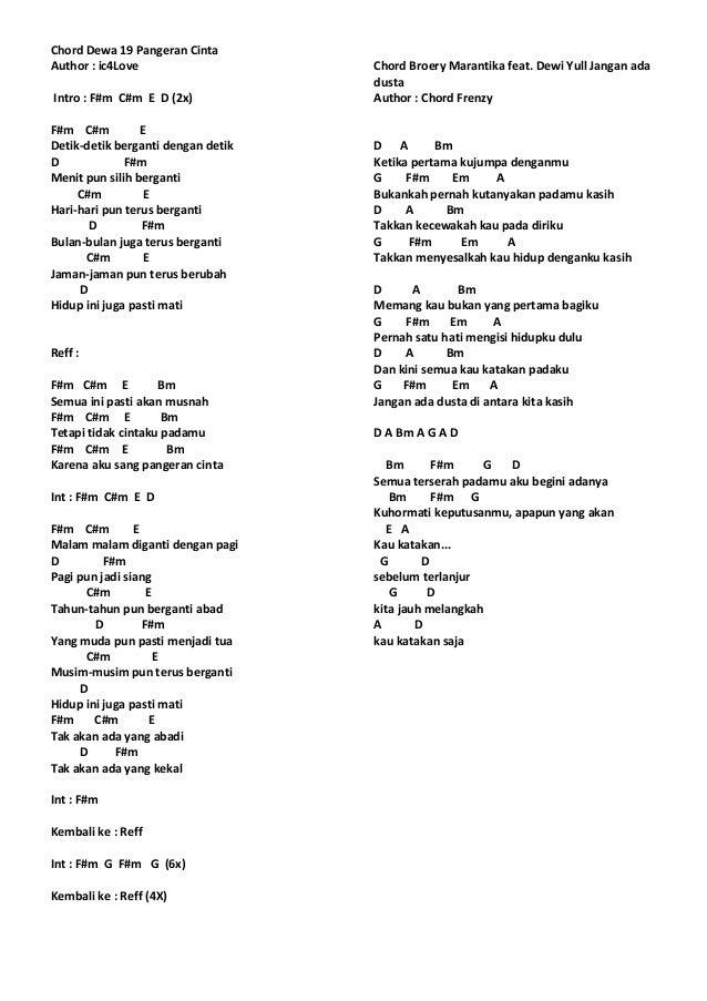 lirik chord lagu mix 1 20 638