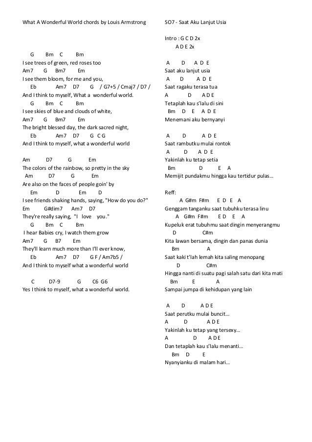 lirik amp chord lagu mix 1