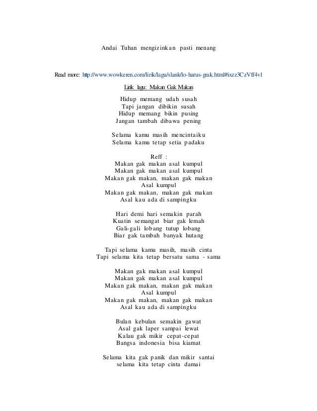 Lirik Lagu Slank Chord