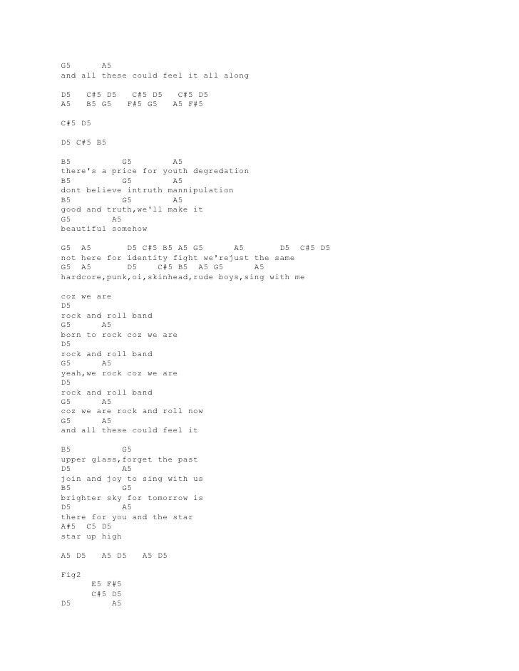 Lirik Dan Kunci Gitar Superman Is Dead