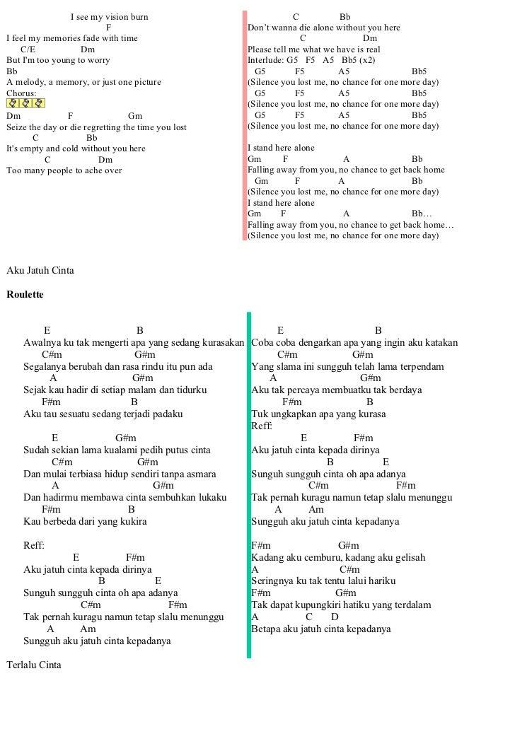 Kord Lirik Lagu