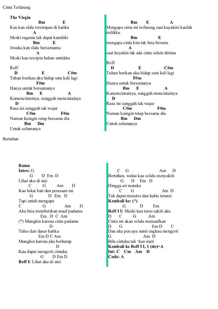 Lirik Lagu Cinta Terlarang Info Dan Tips