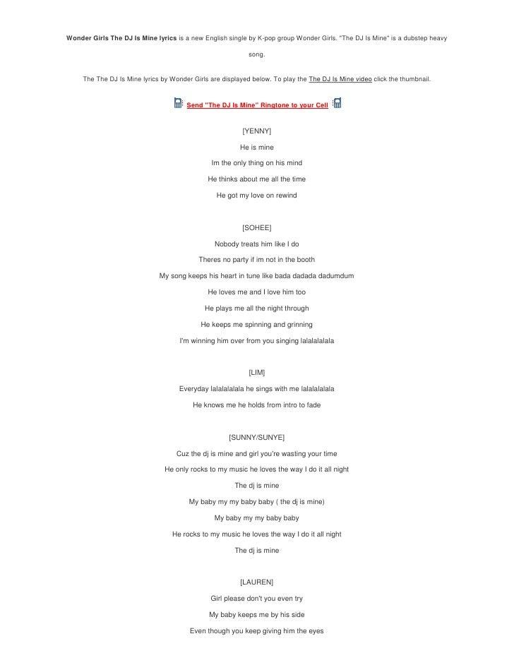 DJ Khaled - You Mine Lyrics | MetroLyrics