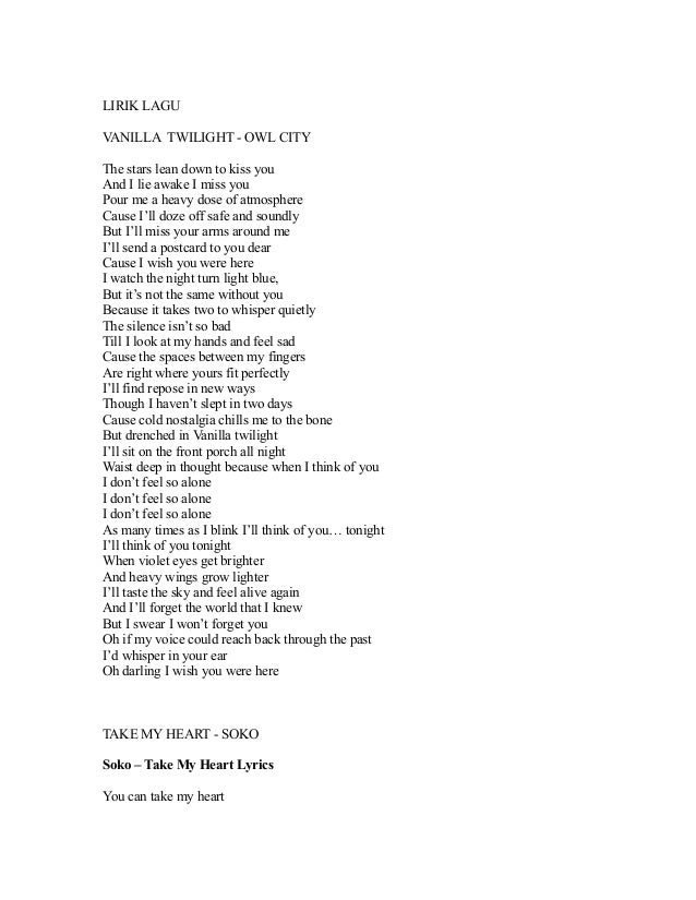 Kiss the rain song lyrics