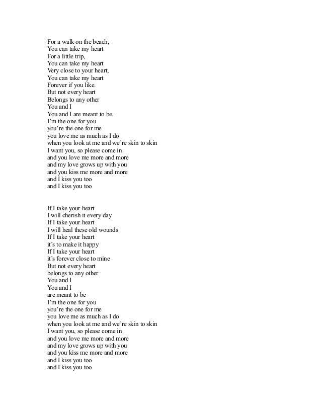 Lirik lagu open the eyes of my heart