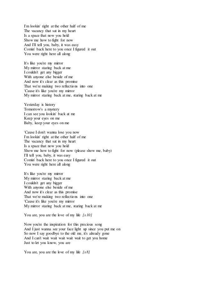 Put me in my place lyrics