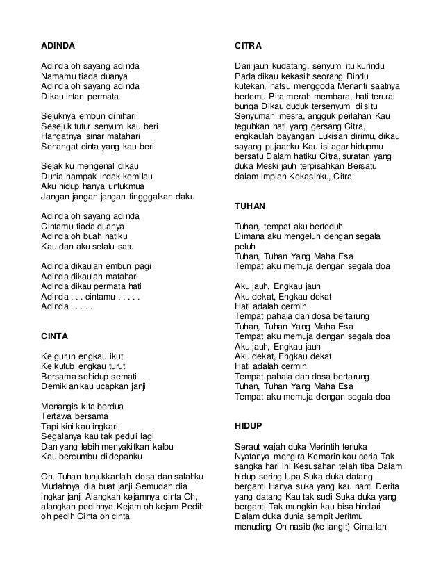 lirik lagu 2 bimbo 1 638