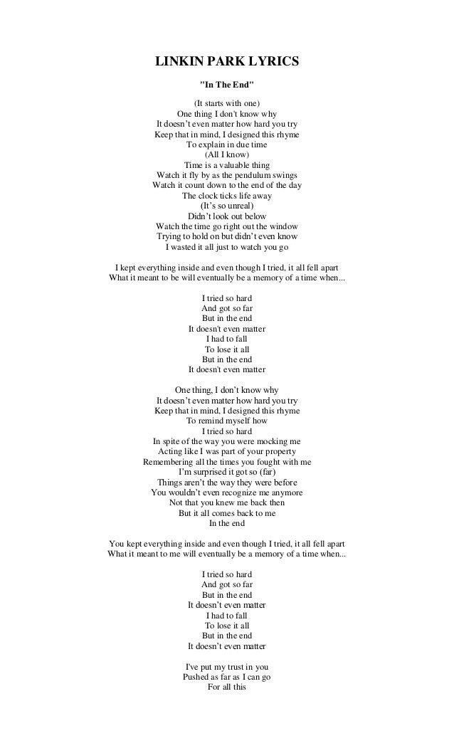 Lirik lagu 1