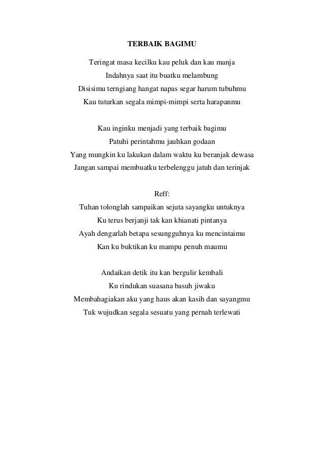 Lirik lagu terbaru