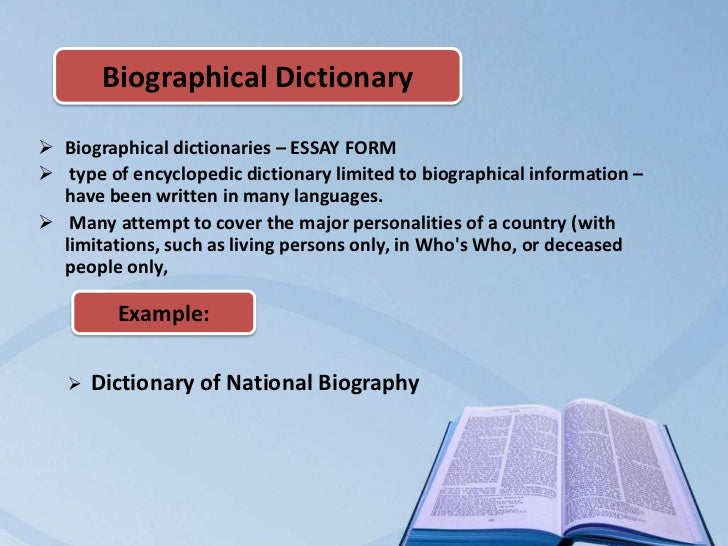 biographical essays definition Biographical   define biographical at definition essay includes a body paragraph that tells the biography - examples and definition of biography essay that uses logic, reason, and facts to.