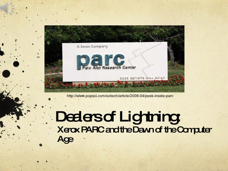 Dealers of Lightning:  Xerox PARC and the Dawn of the Computer Age http://www.popsci.com/scitech/article/2008-04/peek-insi...