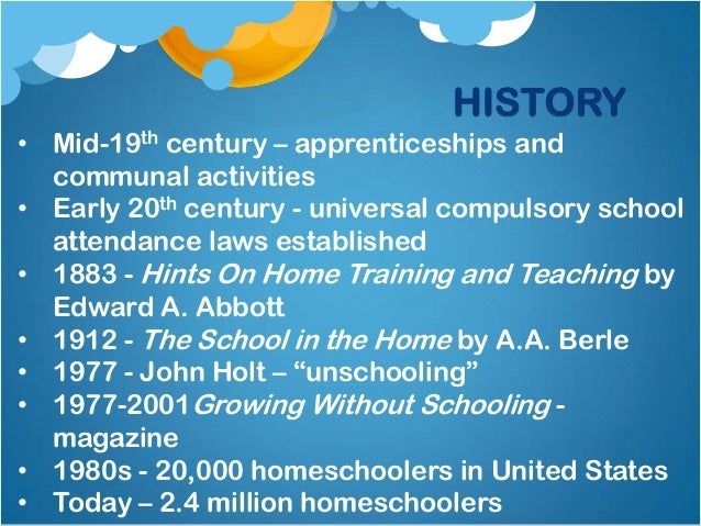 "a history of the beginning of public schooling in united states The question of how us teens learn history in public schools is the  the  purchase of a science textbook that favored an ""old earth"" origin."