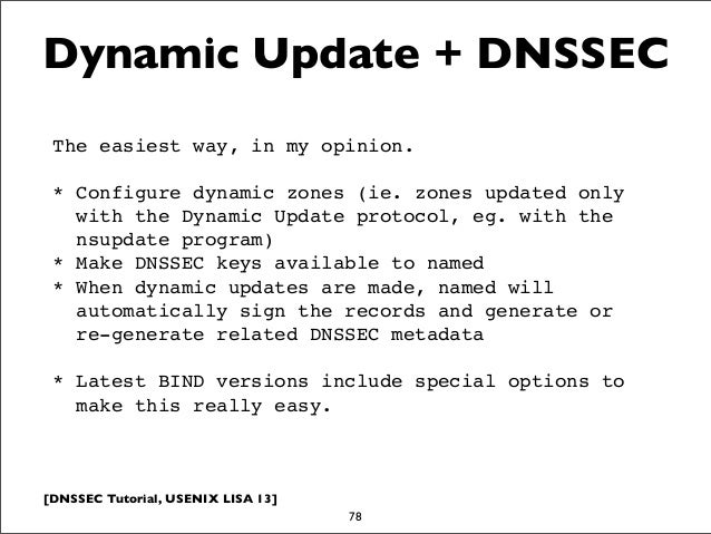 DNSSEC Tutorial