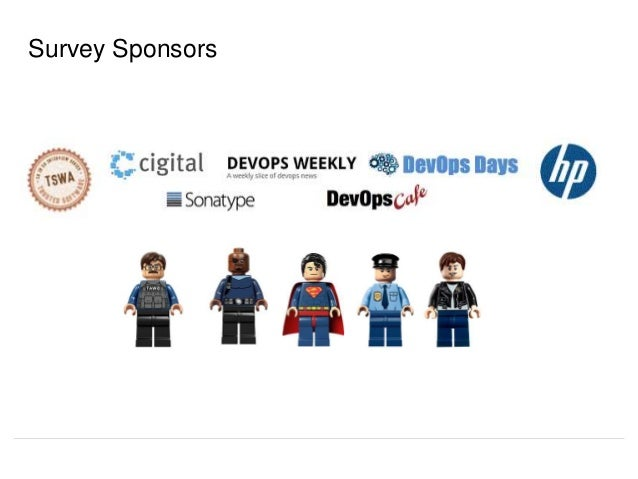 Survey Sponsors