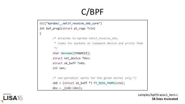 bcc/BPF bccexamples/tracing/bitehist.py enTreprogram