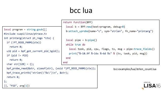 Links&References • iovisorbcc: • hrps://github.com/iovisor/bcchrps://github.com/iovisor/bcc/tree/master/docs •...