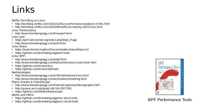 Thanks • Questions? • http://slideshare.net/brendangregg • http://www.brendangregg.com • bgregg@netflix.com • @brendangreg...