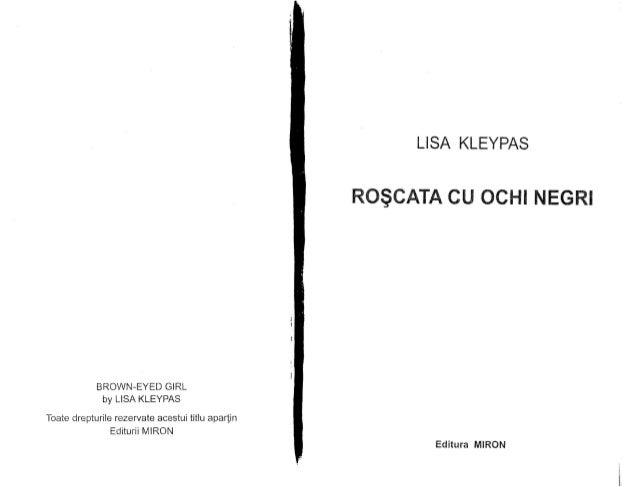 Lisa Kleypas   Roscata cu ochii negri pag.1-95