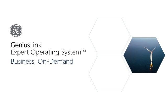 GeniusLink Expert Operating SystemTM Business, On-Demand