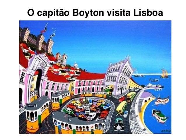 O capitão Boyton visita Lisboa