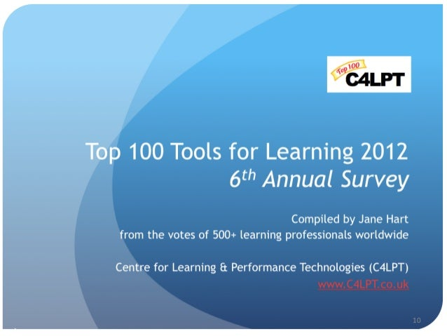 11	    1	    2	    3	    4	    5	    6	    7	    8	    9	    10	    The	   Top	   10	   of	   the	   Top	   100	   Tools	 ...