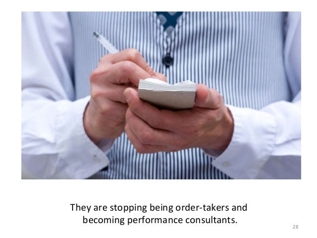 29   They  are  carrying  out  a  performance  analysis    …     (not  to  be  confused  wit...