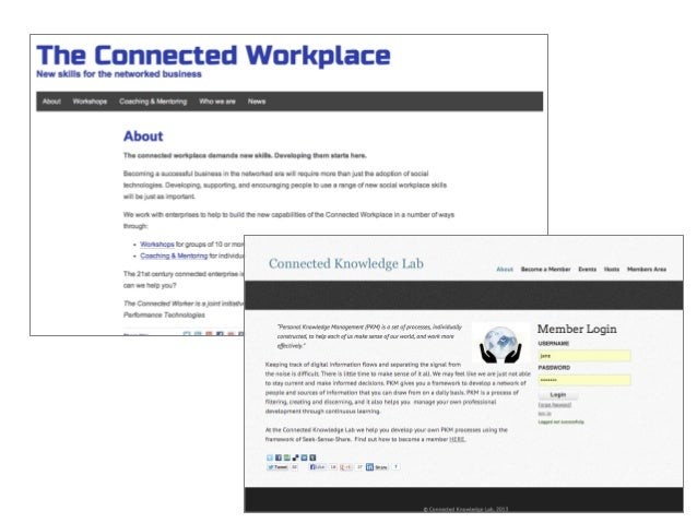 51	    Personal/	    Professional	    Learning	    OrganisaAonal	    Learning	    KNOWLEDGE	   SHARING	   	    in	   work	...