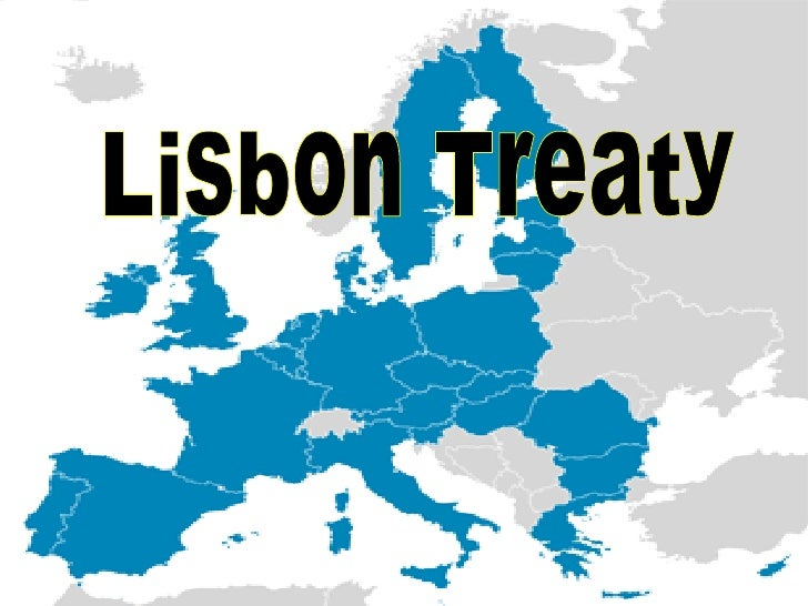 lisbon treaty changes essay