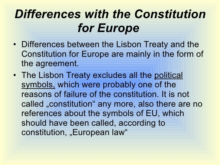the lisbon treaty Don't have a clue what we are being asked to vote on in the upcoming  referendum on the lisbon treaty on june 12th join the rest of the.