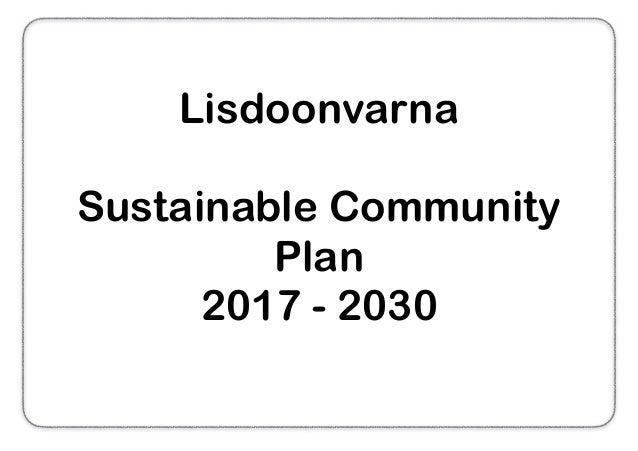 Lisdoonvarna Sustainable Community Plan 2017 - 2030