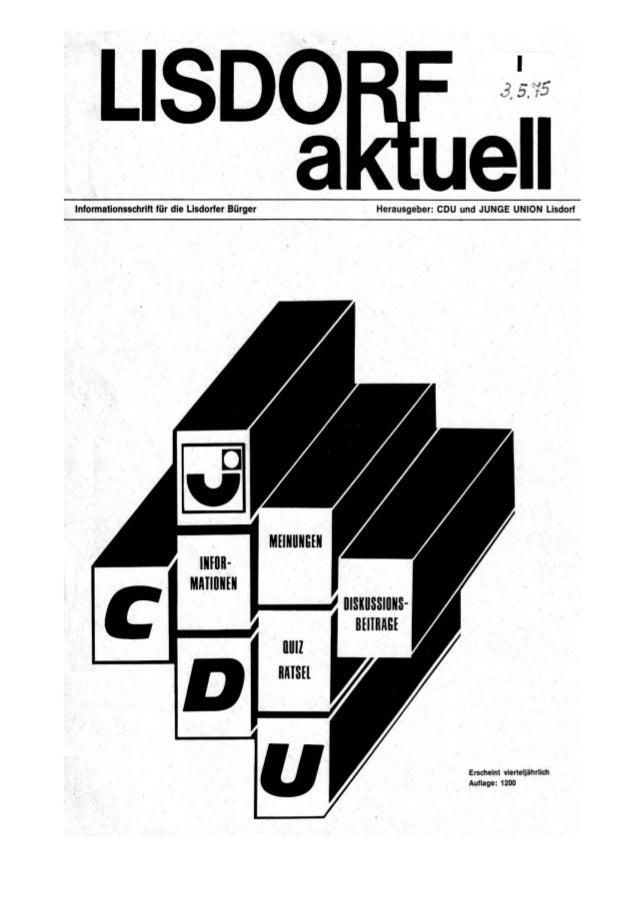 Lisdorf aktuell nr. 1   frühjahr 1975 (03.05.1975)