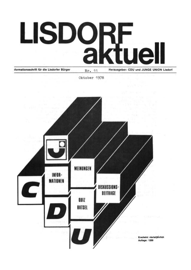 Lisdorf aktuell nr. 11   herbst 1978