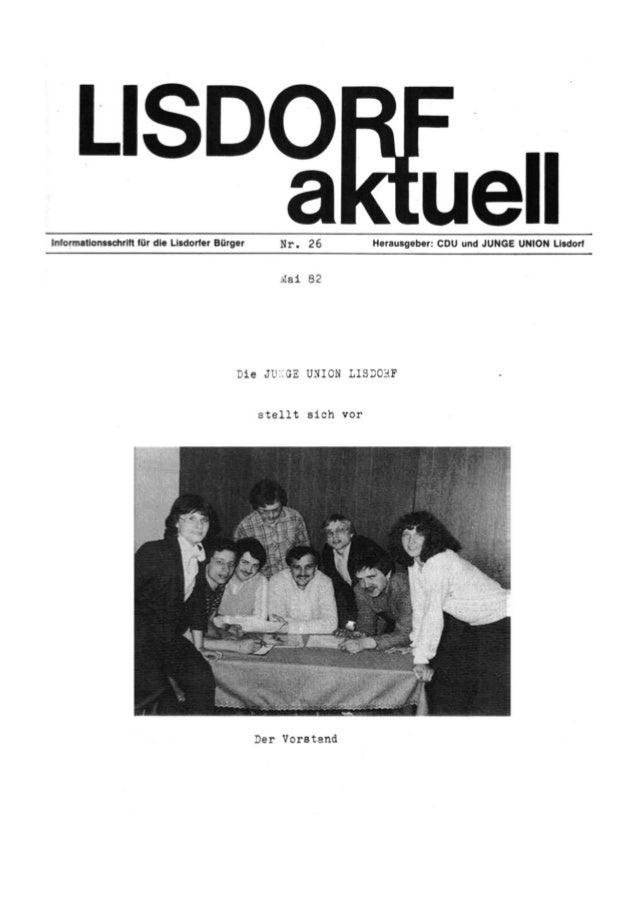 Lisdorf aktuell nr. 26