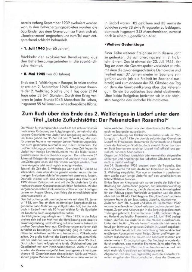 bereits Anfong September 1939 evokuiert worden wor ln den Beherbergungsgebielen wr.rrden die Soorldnder ous dem Grenzroum ...