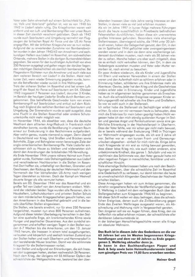 """Voler oder Sohn ehrenhoft o!{ einem Sch ochtfe d iür ,,Füh- rer, Volk lnd Voter ond"""" se{o en isi, wor es von 1940 bls 1942..."""