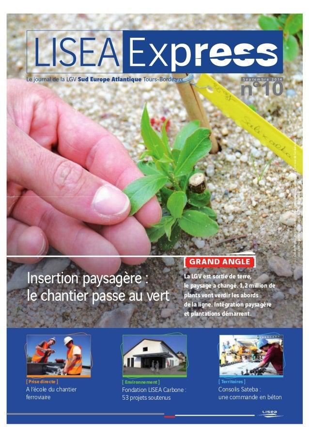 n°10 S e p t e m b r e 2 0 1 4 [ GRAND ANGLE ] CréditPhoto:Ines-Interactive-Plantmisencultureenpépinièreenvuedelaréalisati...