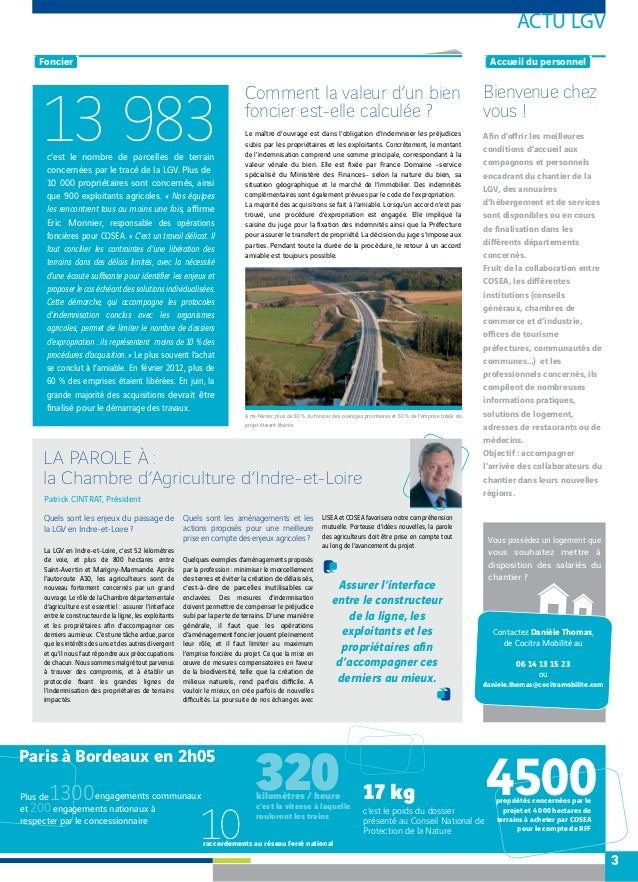Lisea express n 2 mars 2012 for Chambre agriculture indre