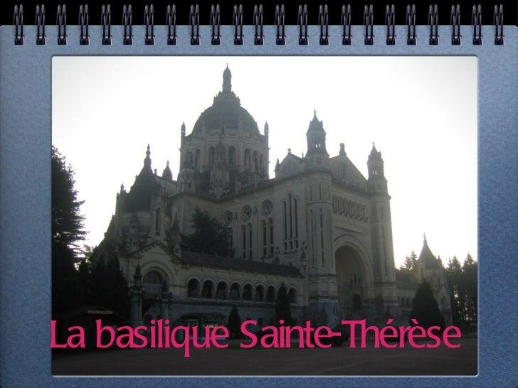 La basilique Sainte-Thérèse