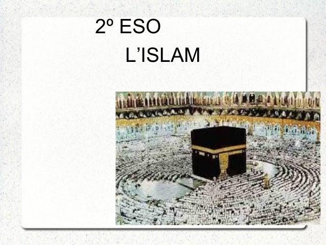 L'ISLAM 2º ESO