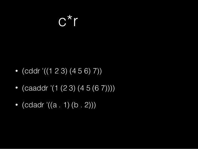 (cddr '((1 2 3) (4 5 6) 7)) d