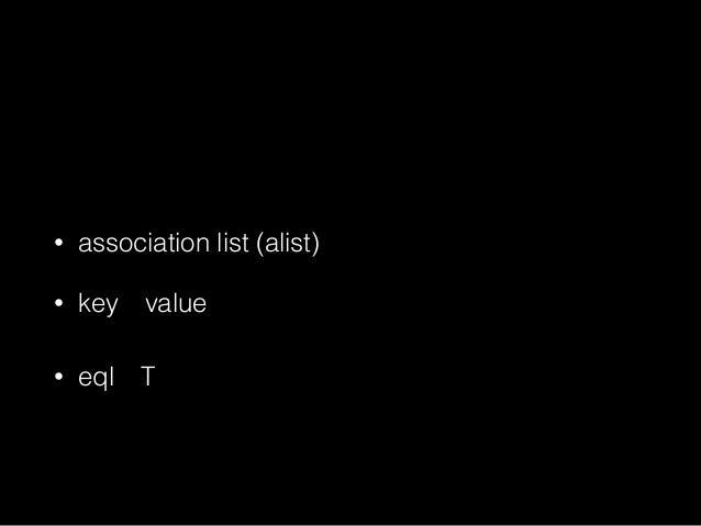 (assoc 'a '((a 1) (b 2) (c 3))) ;=>(A 1)