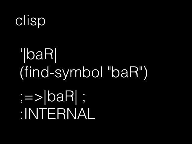 (symbol-name ' baR )