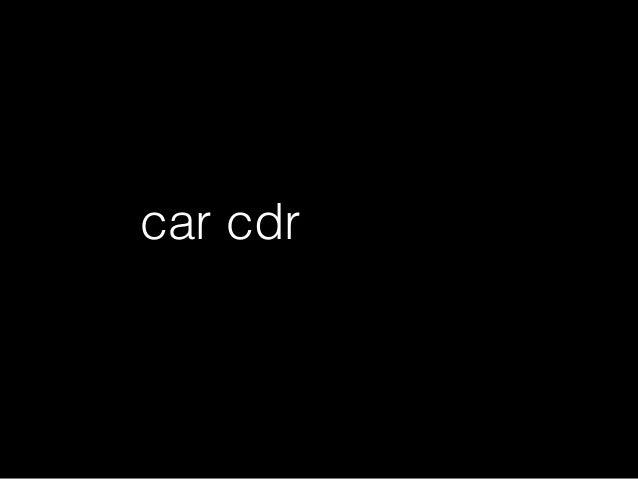'(1 2 3 4 5 6 7) cdrcar 今は関数名