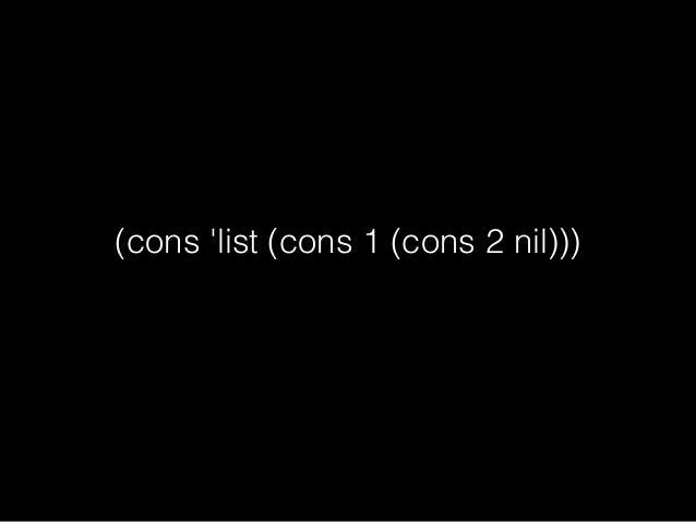 (cons 1 2)