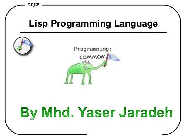 LISP Lisp Programming Language