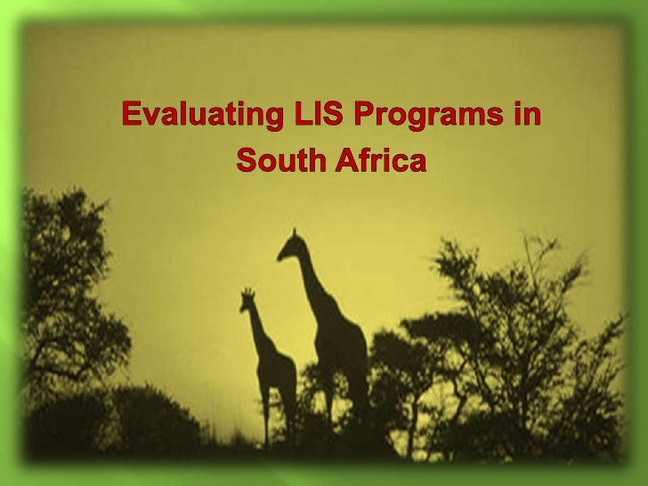 South Africa has the longest history of library science   training in all of Africa, starting in 1933.  There are currentl...