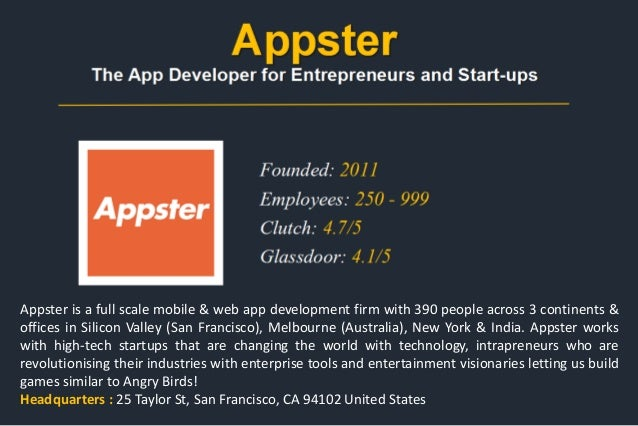 List of Top Mobile App Development Companies USA