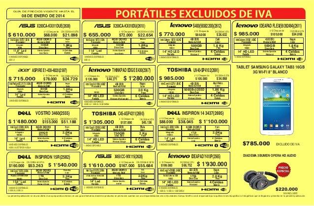 Lista de-precios-compugreiff-enero-08-2014 Slide 3