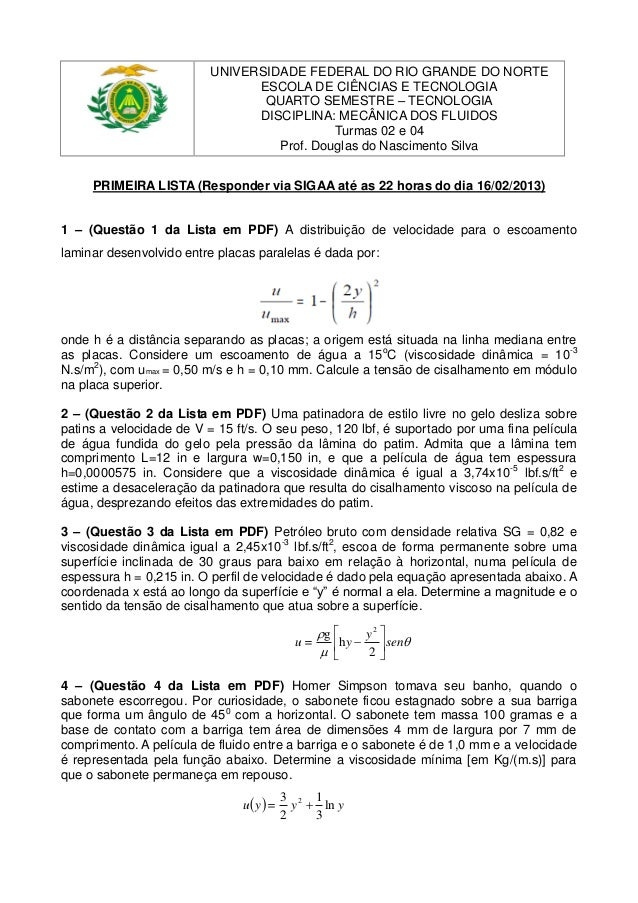 UNIVERSIDADE FEDERAL DO RIO GRANDE DO NORTE                                ESCOLA DE CIÊNCIAS E TECNOLOGIA                ...
